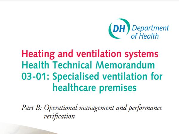 HTM03 healthcare ventilation